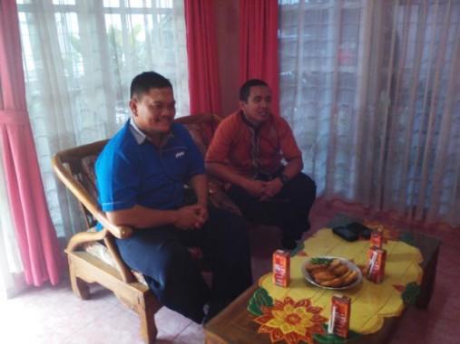 Kacab IZI Lampung Agus Rin Wirawan Silaturahmi ke Jejamo.com