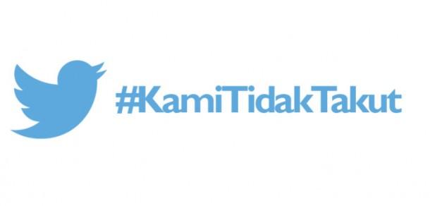 Pasca Teror di Jakarta, Tagar #KamiTidakTakut Ramai di Twitter