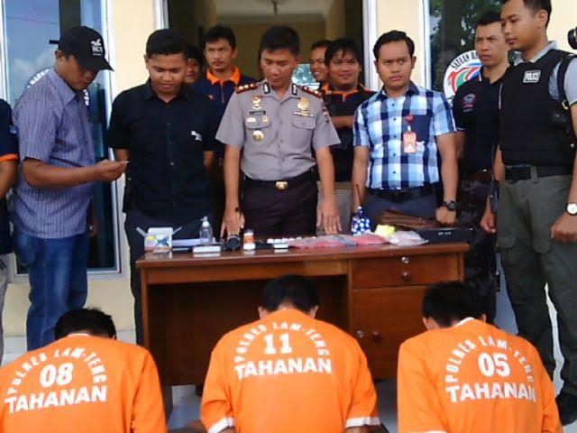 Polres Lampung Tengah Sita Sabu-Sabu Senilai Rp80 juta