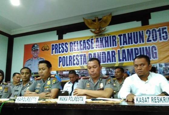 Kasus Korupsi di Bandar Lampung Jadi Prioritas Polresta Tahun Ini