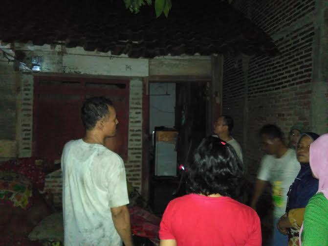 Breaking News: Kebakaran Hanguskan Rumah di Gedungmeneng Bandar Lampung