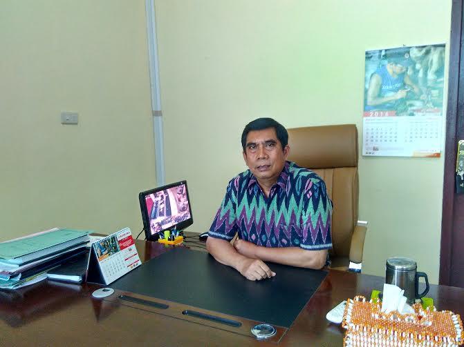 Kepala SMA N 1 Tumijajar, Tulang Bawang Barat, Drs Pujiyanta. MPd | Buhairi/jejamo.com