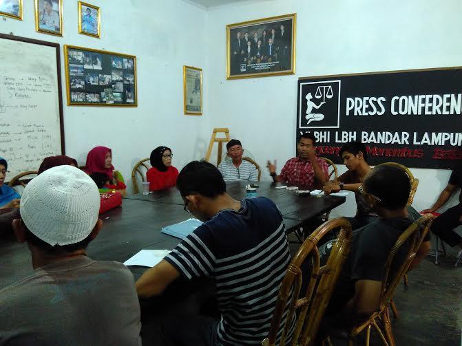 LBH Bandar Lampung akan Dampingi Warga Terkait Pembangunan Tembok Rel Kereta Api