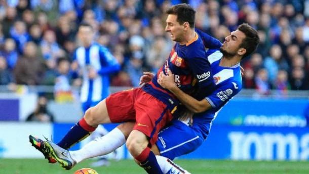 Cekcok dengan Bek Espanyol, Lionel Messi Sempat Disebut Si Cebol