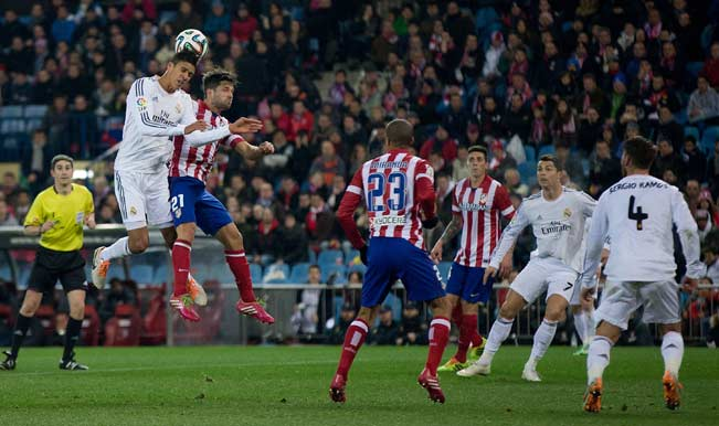 Real Madrid dan Atletico Madrid | ist