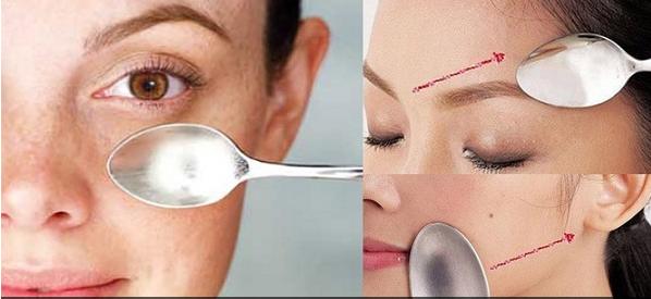 Tehnik Memijat Wajah Dengan Sendok