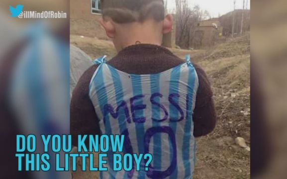 Messi Kecil Berseragam Kantung Plastik Ini Diburu Warga Eropa