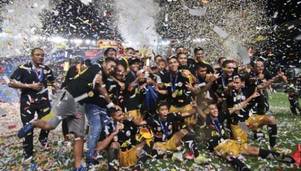 Tekuk Semen Padang 2-1, Mitra Kukar Juara Piala Jenderal Sudirman