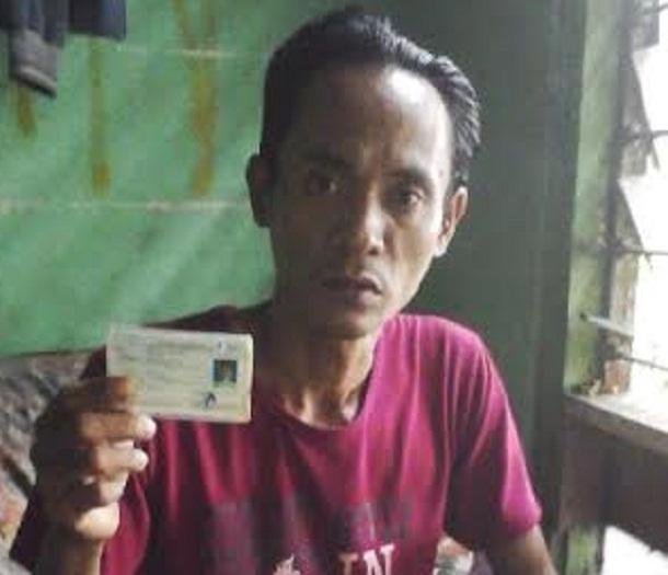 Warga Kelurahan Kota Alam, Kecamatan Kotabumi, Lampung Utara Muhlisin (35) | Buhairi/jejamo.com