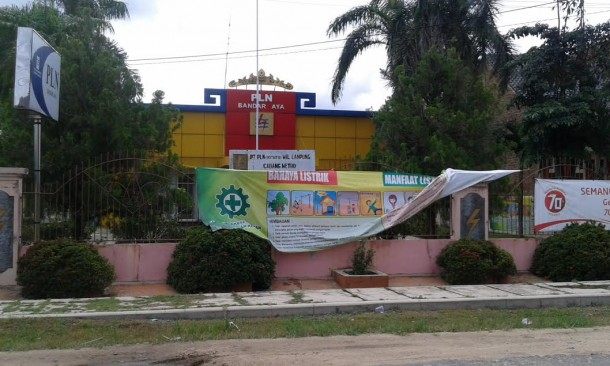 PLN Bandarjaya Lampung Tengah Imbau Warga Kena Proyek Tol Laporkan Kwh Meter