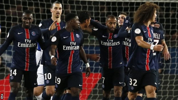 Skuat PSG | getty images