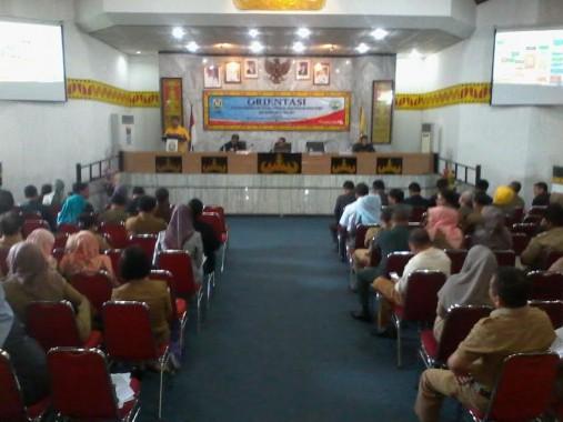 Pembahasan RPJMD Kota Bandar Lampung lima tahun ke deoan di Gedung Semergou, Rabu, 27/1/2016. | Sigit Sopandi/Jejamo.com