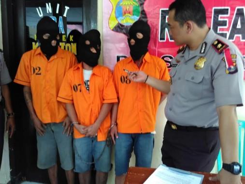 Diduga Curi Ponsel, 3 Pemulung di Bandar Lampung Ini Diringkus Polisi