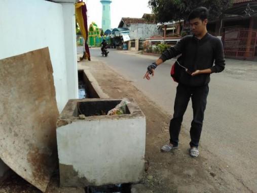 Inilah Tempat Sampah di Palapa Bandar Lampung Lokasi Penemuan Bayi