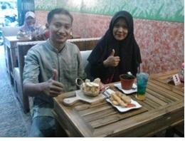 Happy Ice Cream Andalan Garden Cafe Dekat Kampus IAIN Raden Intan Lampung