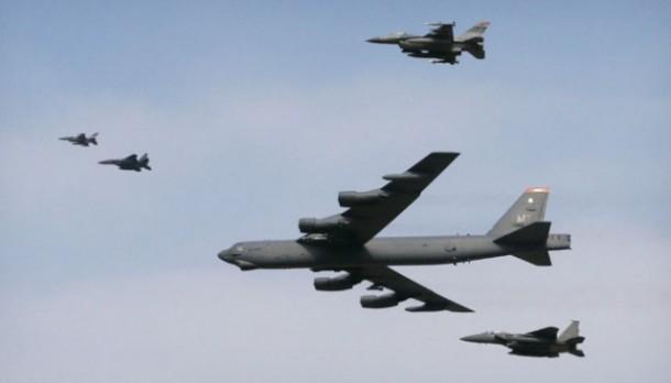 Pesawat Pengebom B-52 Amerika Mengudara, Korea Kian Memanas