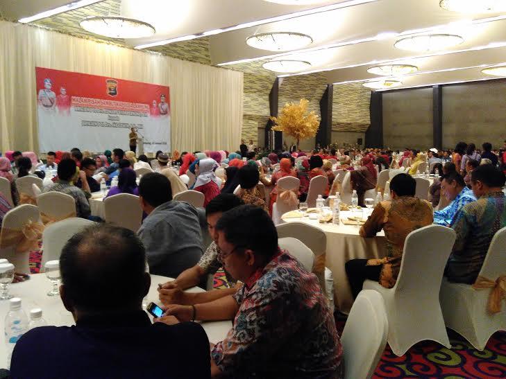 Polda Lampung Gelar Pisah Sambut Kapolda di Hotel Novotel Bandar Lampung