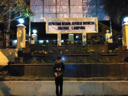Polda Lampung. | Andi Apriyadi/jejamo.com