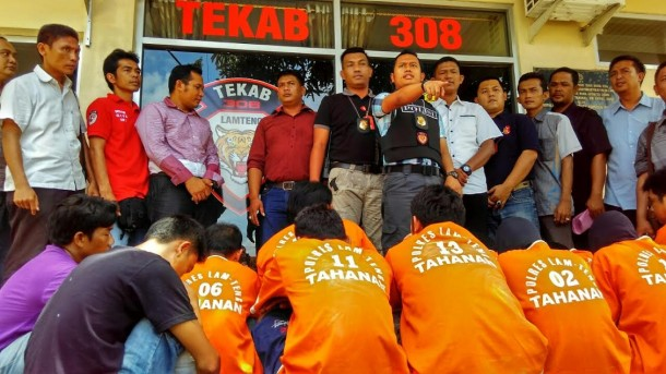 1 Minggu, Polres Lampung Tengah Tangkap 62 Tersangka