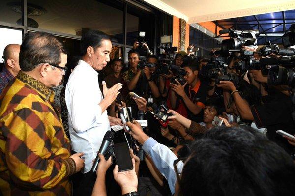 Presiden Jokowi Bangga Rakyat Indonesia Tak Takut Teroris