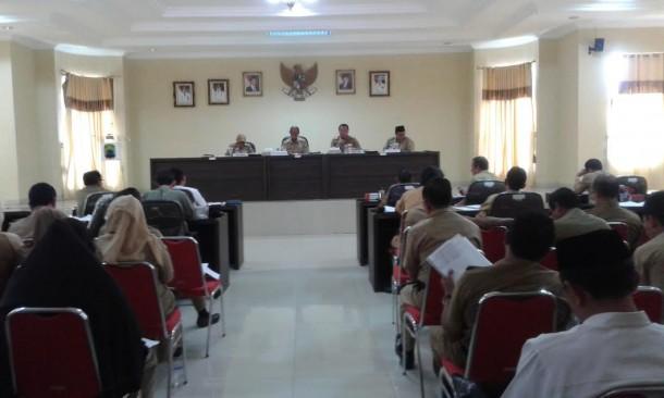 Songsong MTQ, Pemkab Lampung Selatan Rapat Persiapan