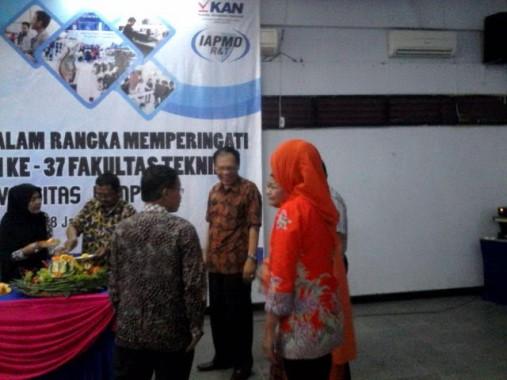 Rektor Universitas Lampung Hadiri Syukuran Hari Jadi Fakultas Teknik