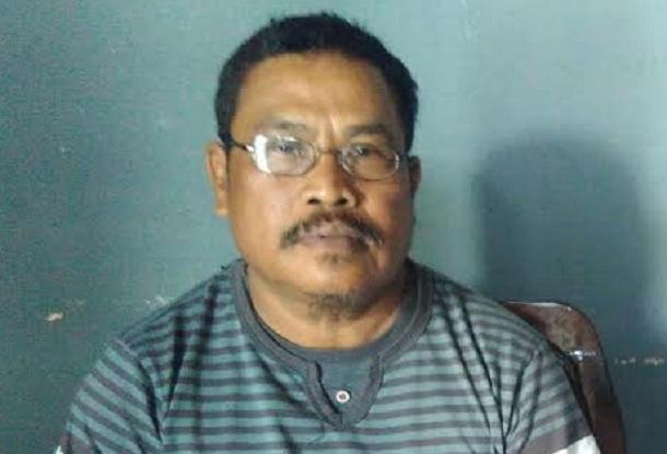 Kepala Tiyuh Sumberejo Rustam | Wahyu/jejamo.com