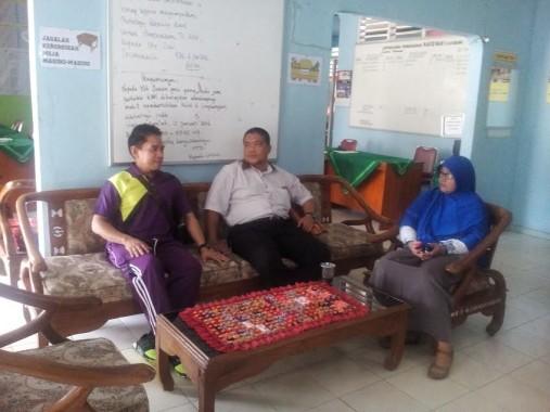 Beberapa guru SMAN 3 Kotabumi, Lampung Utara. | Prika Zulkaida/Jejamo.com