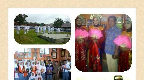 Beberapa aktivitas SMAN 1 Sungkai Utara, Lampung Utara. | Ist