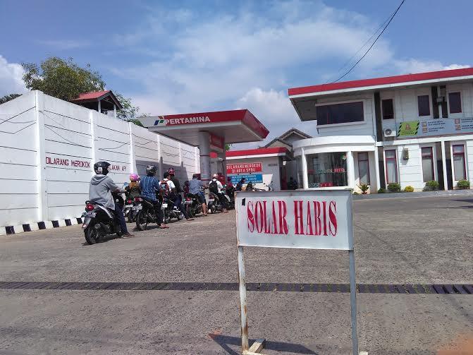 SPBU Kauman Kota Metro | Wahyu/jejamo.com