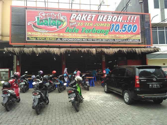 Rumah Makan Sambal Lalap Telukbetung Bandar Lampung Enak dan Murah