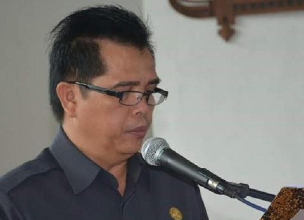 Sekretaris DPRD Lampung Tengah Samsi Roli | Raeza/jejamo.com