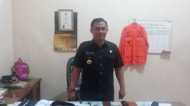 Wakil Ketua umum Pengcab IPSI Lampung Utara, Sena Adhi Witarta saat ditemui Jejamo.com diruang kerjanya, 13/1/2016 | Arif/jejamo.com
