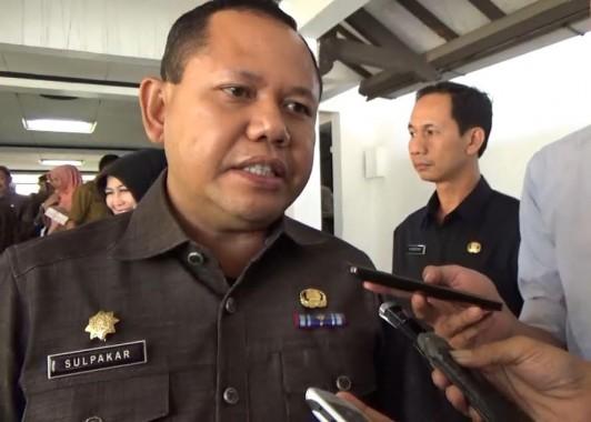 Penjabat Wali Kota Bandar Lampung Sulpakar. | Sigit Sopandi/Jejamo.com