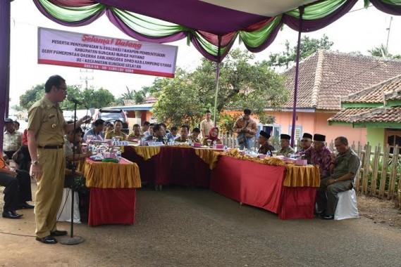 Masyarakat Sungkai Bunga Mayang Deadline DPRD Lampung Utara Tetapkan SKB Pemekaran