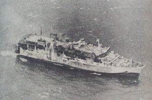 Ilustrasi tenggelamnya KMP Tampomas II. | Wikipedia
