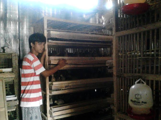 Edi Iswanto warga Kembang Tanjung, Kecamatan Abung Selatan, Lampung Utara | Buhairi/jejamo.com