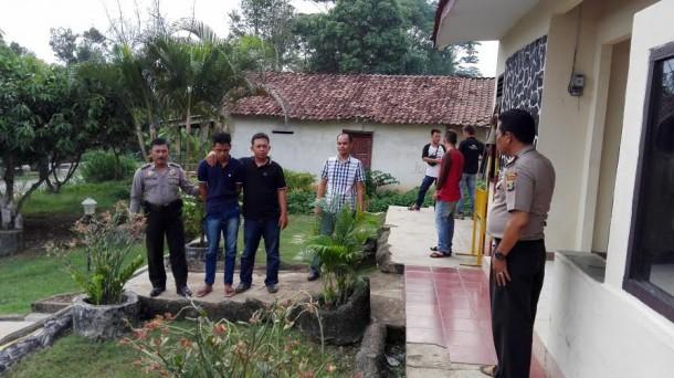 Pencuri TV dan Tabung Gas Tiga Kilo Ditangkap Polsek Abung Barat Lampung Utara