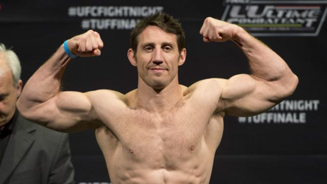 Petarung Ultimate Fighting Championship (UFC) asal Amerika Serikat Tim Kennedy  | ist