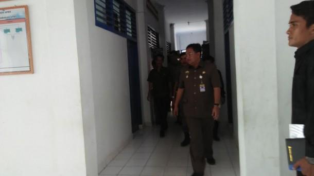 Wabub Lampung Utara Pantau Kedisiplinan Anak Buahnya
