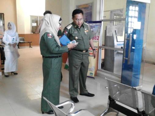 Wakil Bupati Lampung Utara Tinjau BPJS Center RSUD Ryacudu