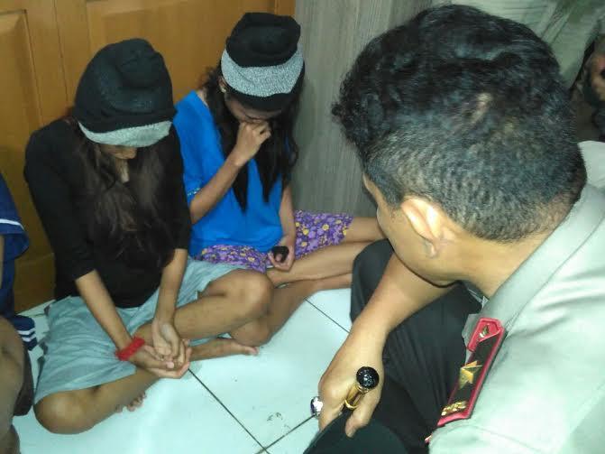 Demi Uang, Dua Wanita Ini Gabung Kawanan Begal di Bandar Lampung