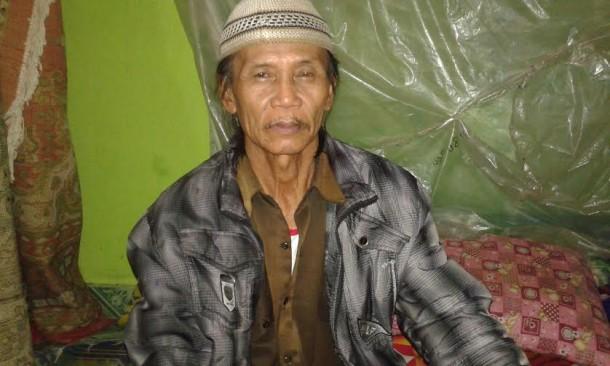 Muhammad Sutopo, warga Desa Karang Endah, Kecamatan Terbanggi Besar | Adrian/jejamo.com