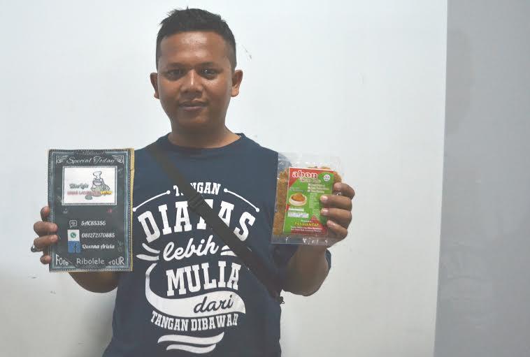 Alumni IBI Darmajaya, Ricko Amrin. | Ist.