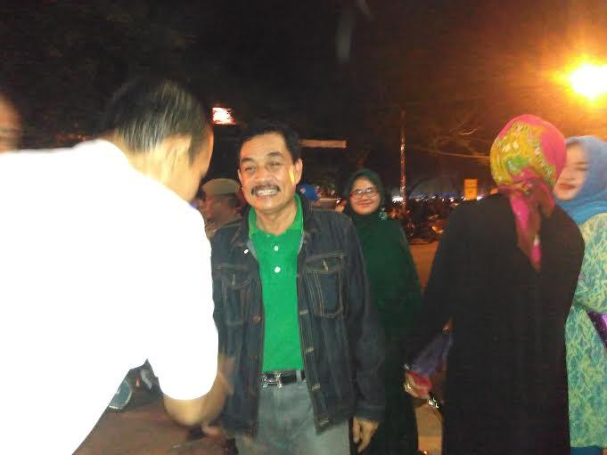 Pj. Wali Kota Metro, Achmad Chrisna Putra saat menghadiri perayaan Tahun Baru di Kota Metro. | Wahyu/Jejamo.com