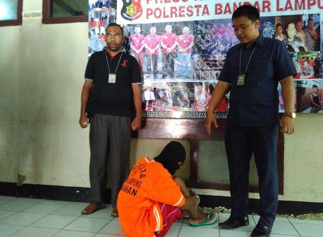 Adrian Diringkus Saat Sedang Rencanakan Aksi Pencurian di Masjid Bandar Lampung