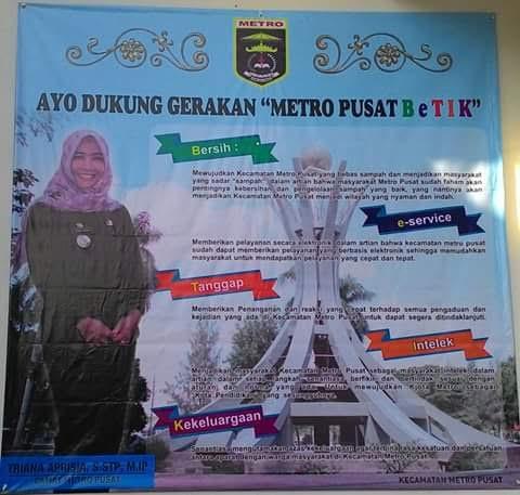 Gerakan Metro Pusat BeTIK sebagai support untuk Kota Metro yang lebih baik. | Tyas Pambudi/Jejamo.com