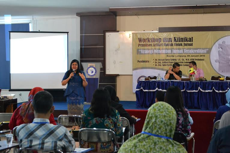 IBI Darmajaya Gelar Workshop Strategi Menembus Jurnal Akreditasi