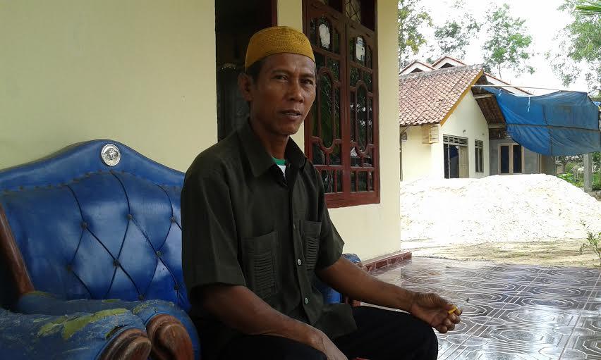 Kepala Desa Rejosari Mataram Lampung Tengah, Harsono. |Adrian Arlambang/Jejamo.com