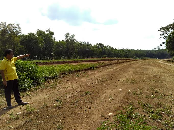 Pemkab Tulangbawang Barat Genjot Pembangunan Infrastruktur Jalan